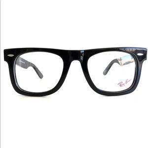 Ray-Ban RB5121 2000 Black Wayfarer Eyeglasses